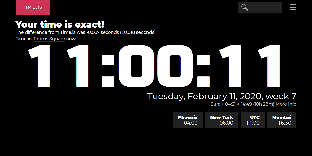 Time in New York, United States now